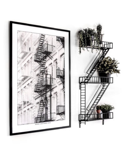 """Fire Escapes"" – New York, Brooklyn to Manhattan"