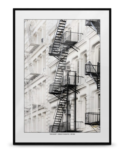 """""""Fire Escapes"""" – New York, Brooklyn to Manhattan"""