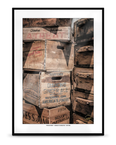 """Vintage Boxes"" – New York, Brooklyn to Manhattan"