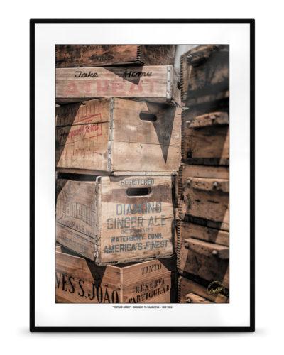 """Vintage Boxes"" – New York, Brooklyn to Manhattan"