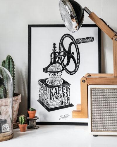 Kaffekvarnen 30x40cm
