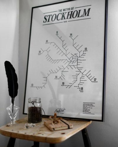 Metro of Stockholm 1950