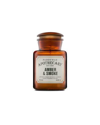 Amber & Smoke – Apothecary Candle