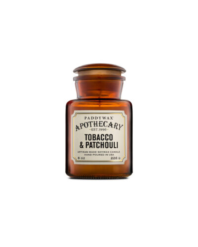 Tabacco & Patchouli – Apothecary Candle
