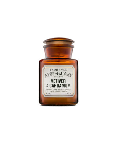 Vetiver & Cardamom – Apothecary Candle