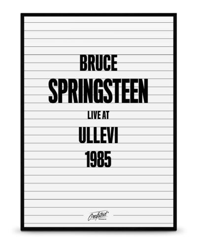 Bruce Springsteen No.3