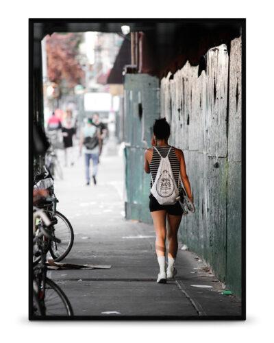 Skate girl N.Y